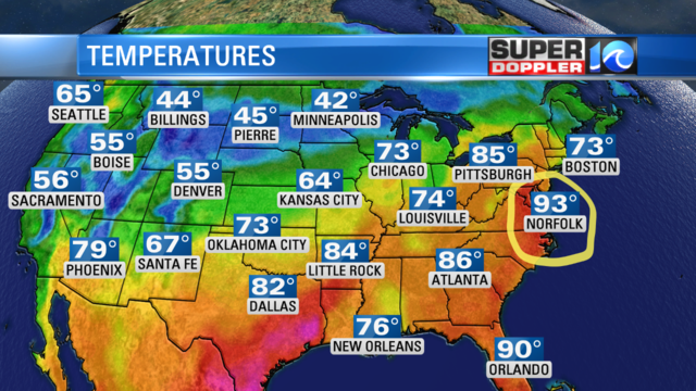 BLOG: Hampton Roads one of the Hottest places on Earth?