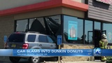 Car crashed into Virginia Beach Dunkin' Donuts Sunday morning